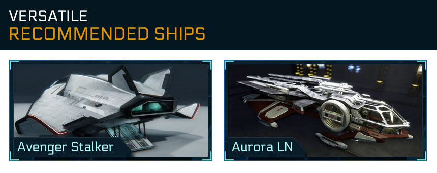 Recommended versatile ships