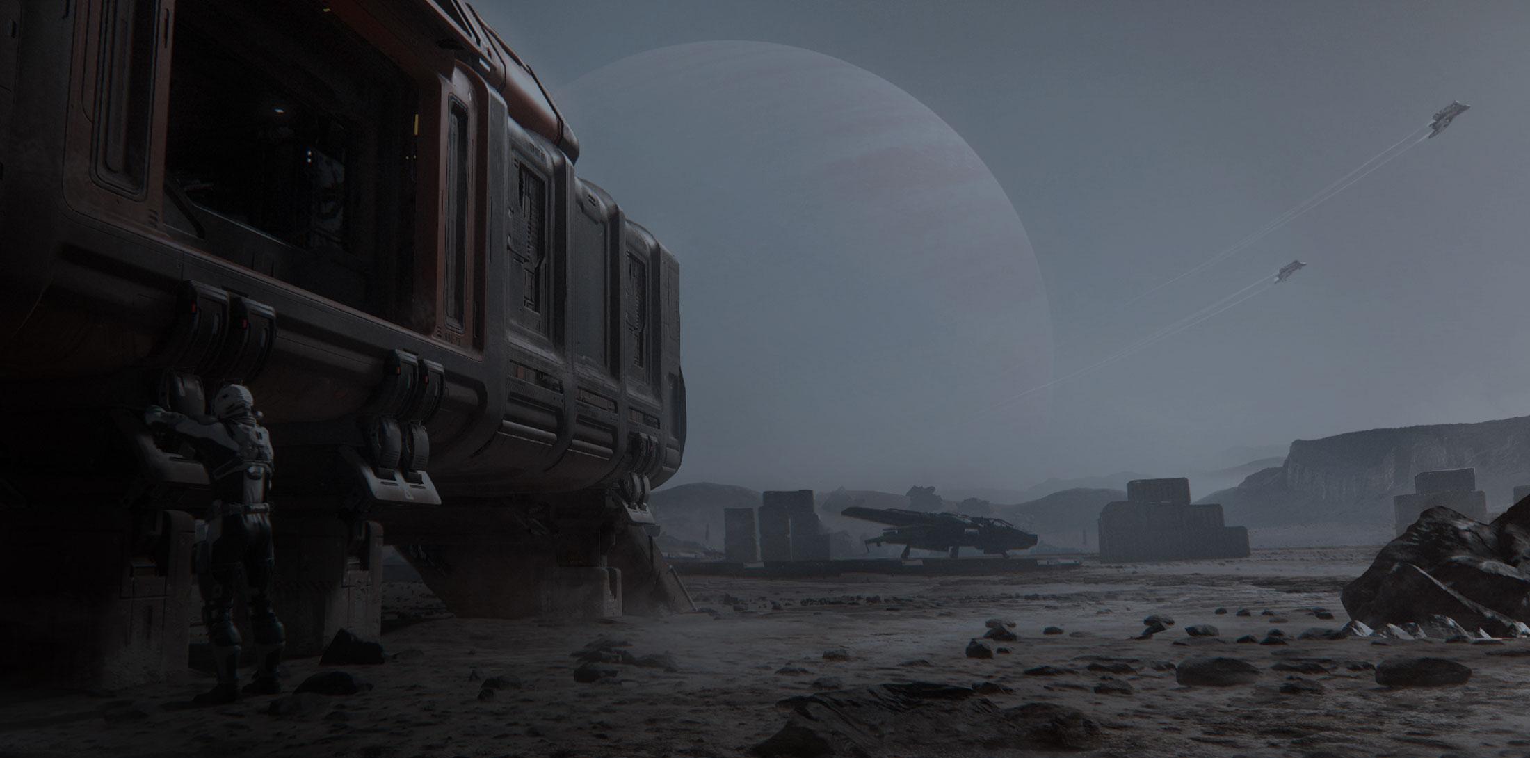 star citizen 3.0 leaked screenshot planetside
