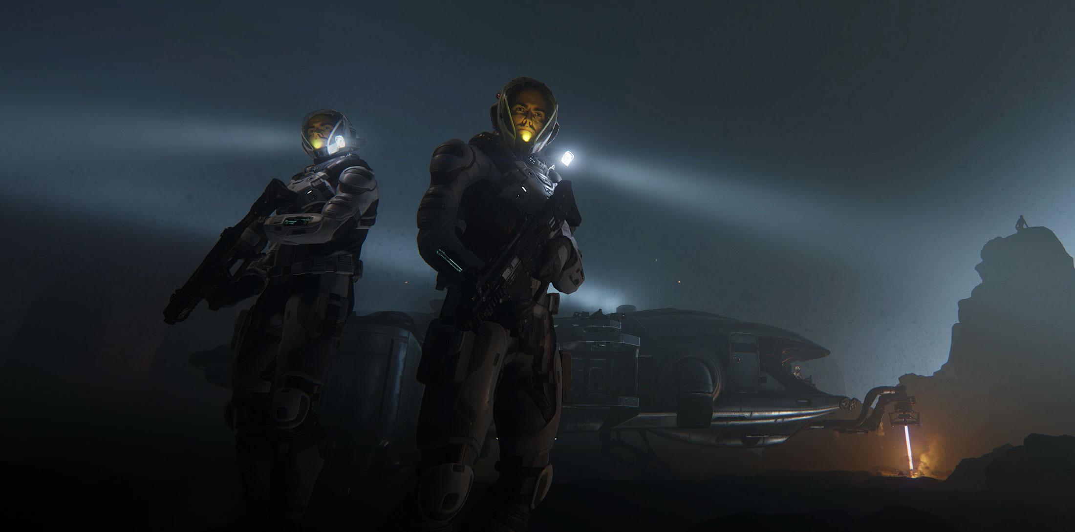 star citizen 3.0 screenshot leaked marines